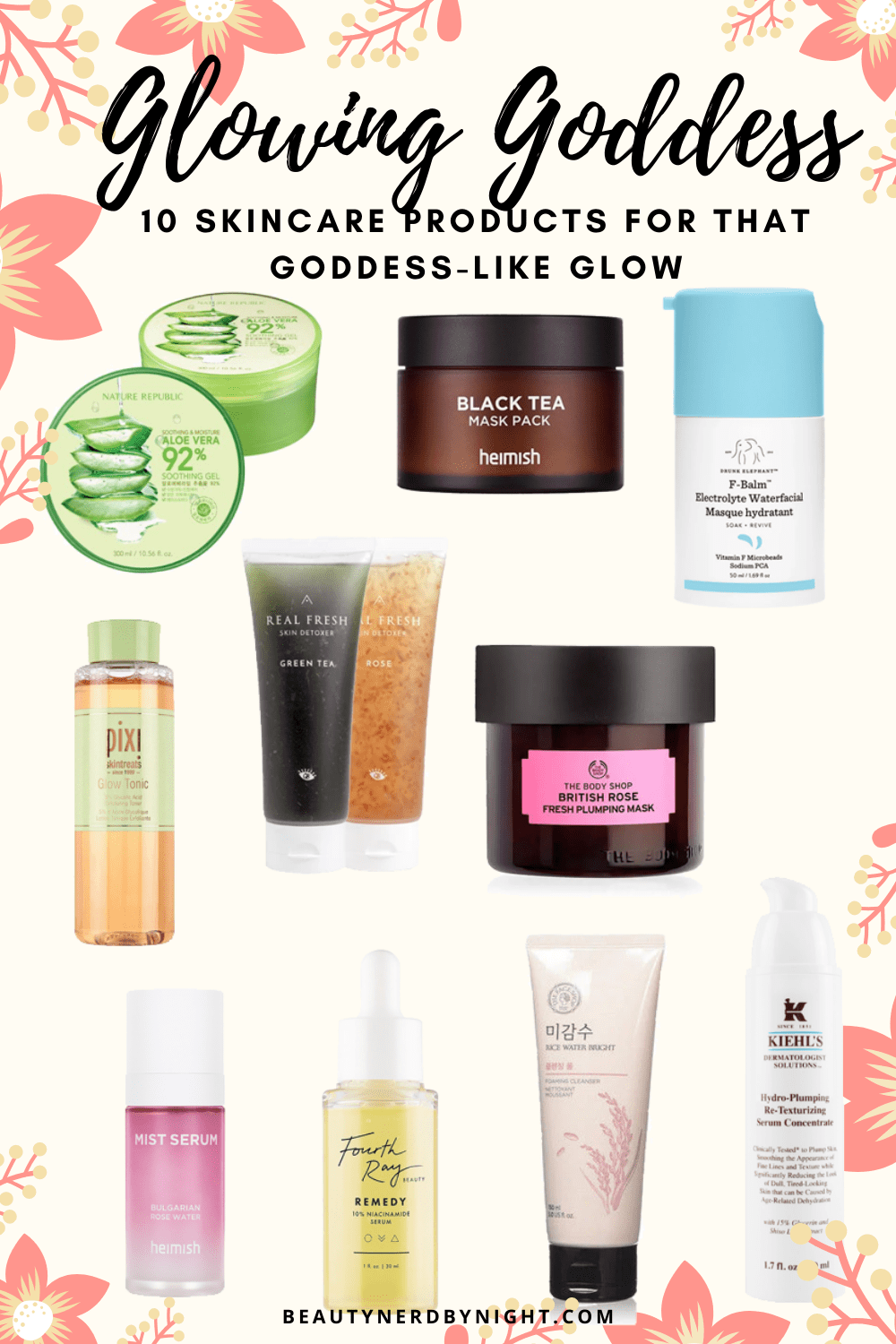 10 Skincare Products for Clear & Glowy Skin ⋆ Beauty Nerd By Night